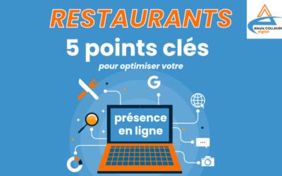 Restaurants : les 5 points clés pour optimiser votre présence en ligne